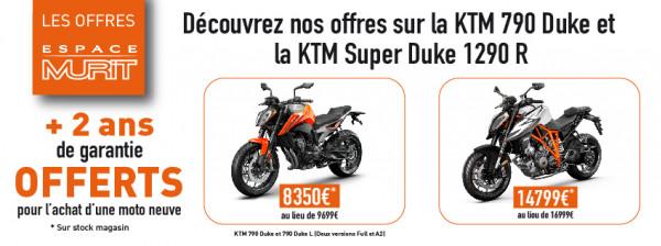 Les offres Murit  KTM