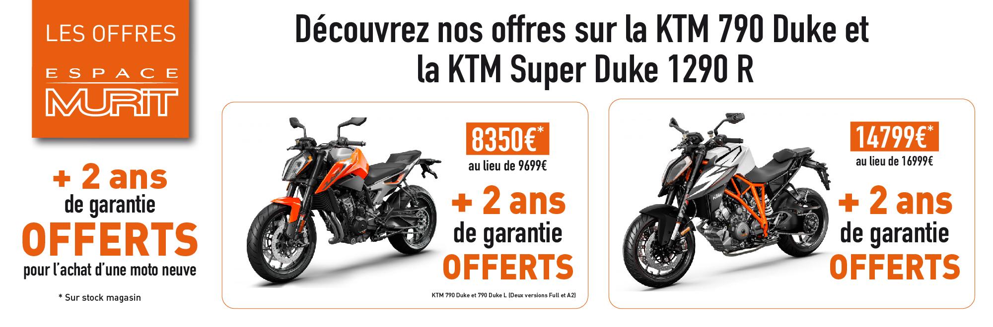 Offres KTM